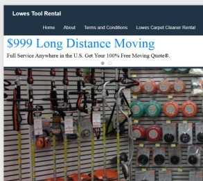 lowes moving truck rentals