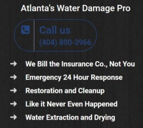 water damage company in Atlanta