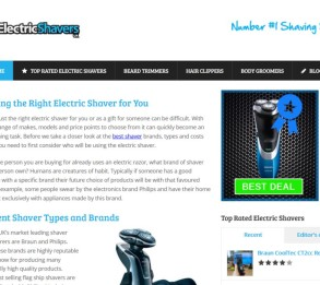electric shaver 2